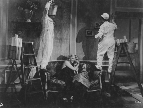 Harpo Marx, Esther Muir, Groucho Marx, Chico Marx