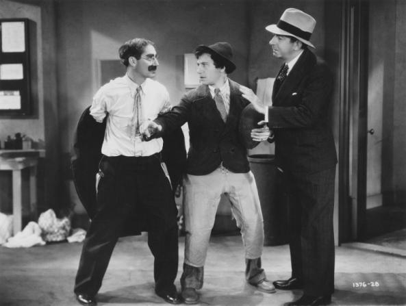Groucho Marx, Chico Marx, David Landau