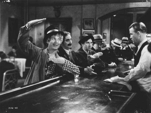 Harpo Marx, Chico Marx, Groucho Marx