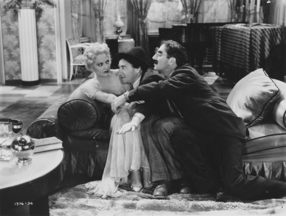 Thelma Todd, Chico Marx, Groucho Marx
