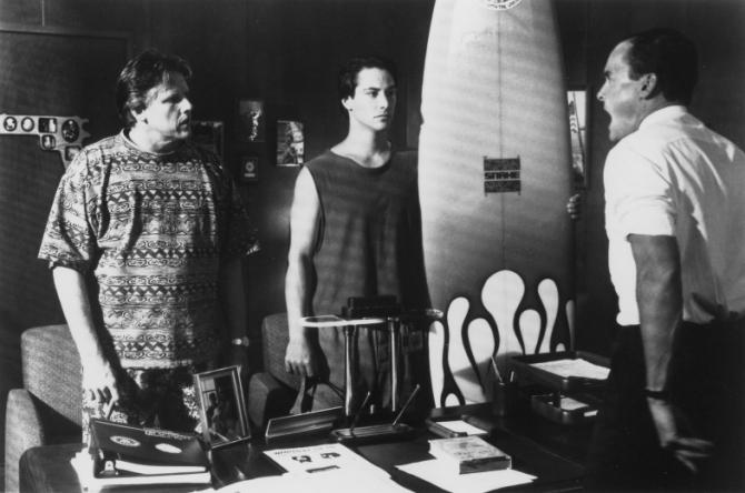 Gary Busey, Keanu Reeves, John C. McGinley