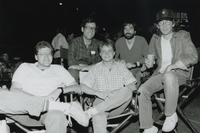 Robert Zemeckis, Michael J. Fox, Steven Spielberg