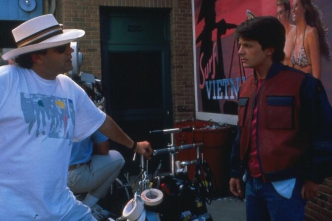 Robert Zemeckis, Michael J. Fox