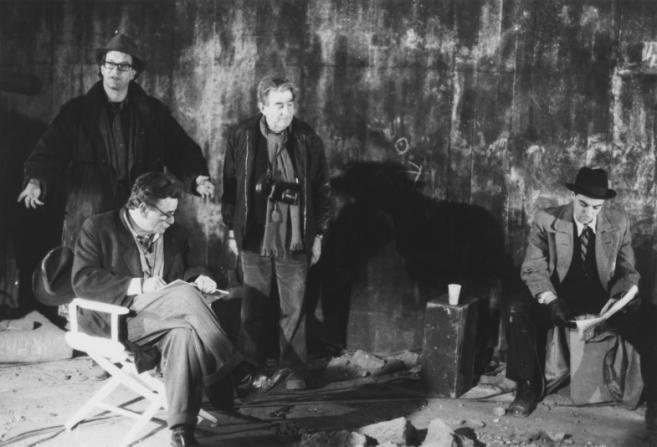 Wim Wenders, Peter Falk, Henri Alekan