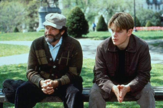 Robin Williams, Matt Damon