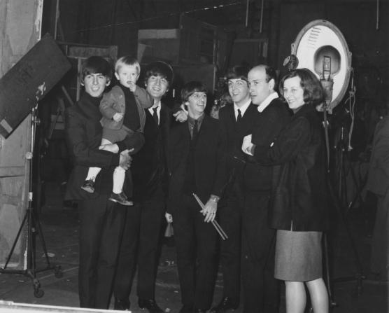 George Harrison, John Lennon, Ringo Starr, Paul McCartney, Richard Lester