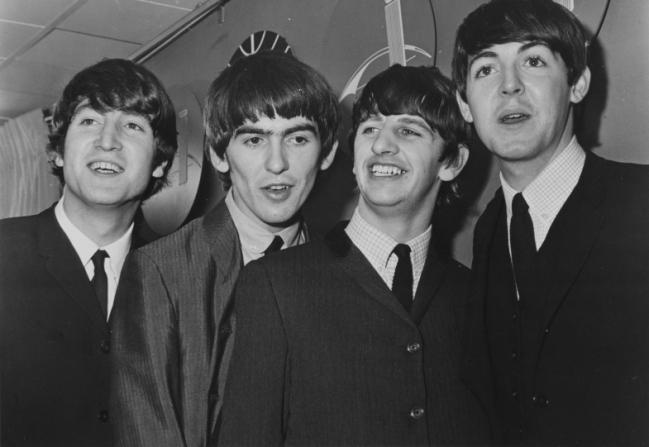 John Lennon, George Harrison, Ringo Starr, Paul McCartney