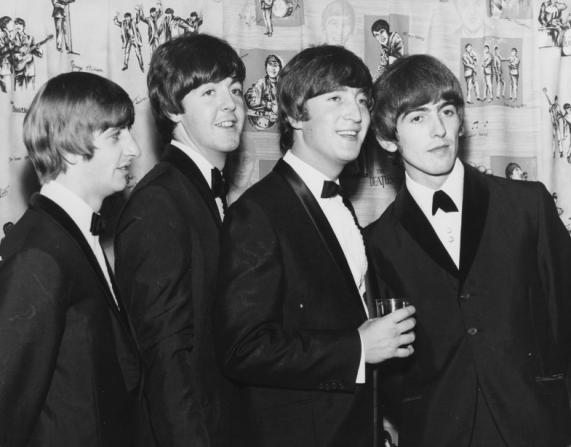 Ringo Starr, Paul McCartney, John Lennon, George Harrison