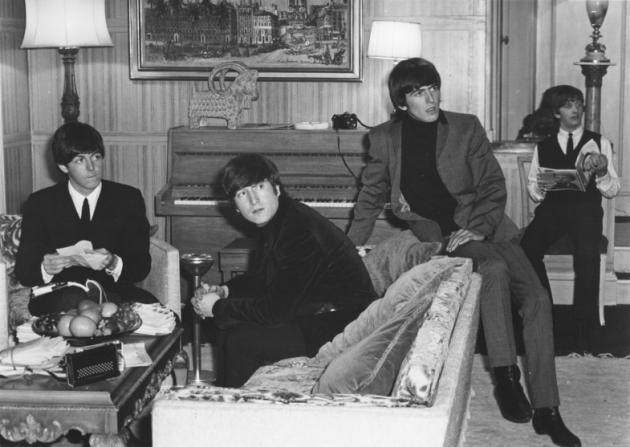 Paul McCartney, John Lennon, George Harrison, Ringo Starr