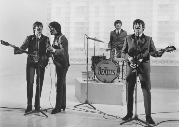 Paul McCartney, George Harrison, Ringo Starr, John Lennon