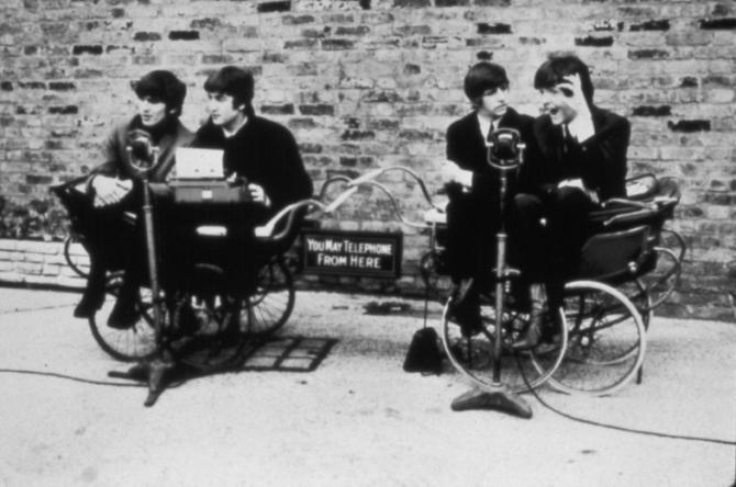 John Lennon, Paul McCartney, Ringo Starr, George Harrison