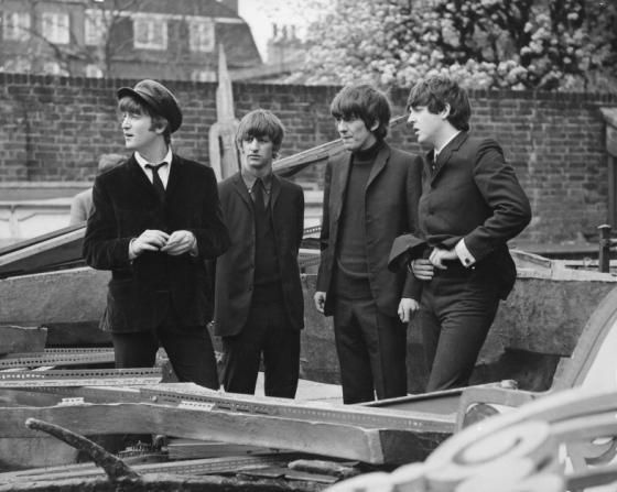 John Lennon, Ringo Starr, George Harrison, Paul McCartney