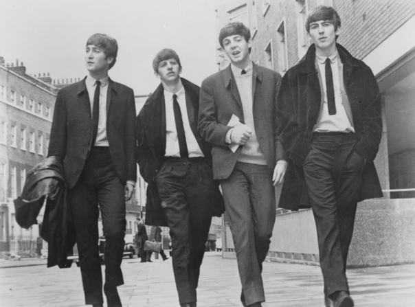 John Lennon, Ringo Starr, Paul McCartney, George Harrison