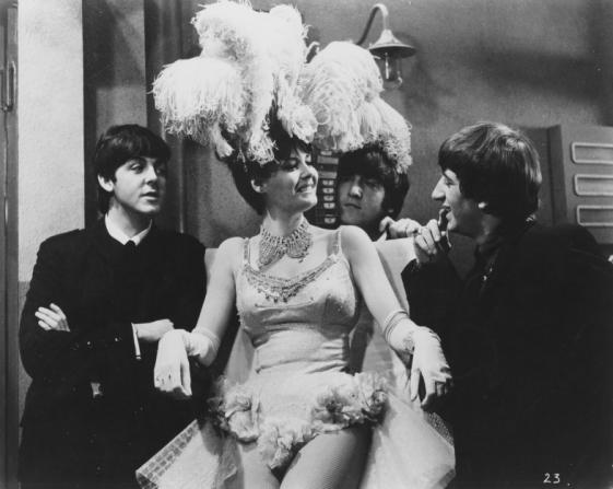 Paul McCartney, John Lennon, Ringo Starr