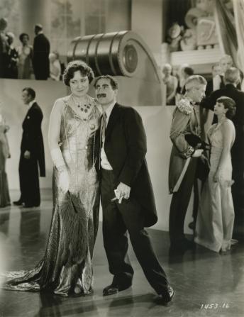 Margaret Dumont, Groucho Marx