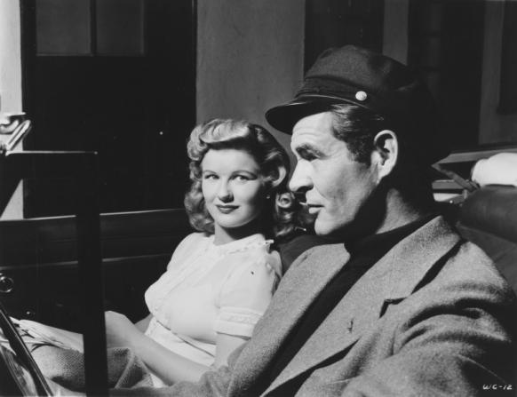 Barbara Bel Geddes, Robert Ryan