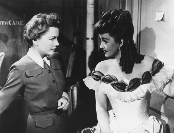 Anne Baxter, Bette Davis