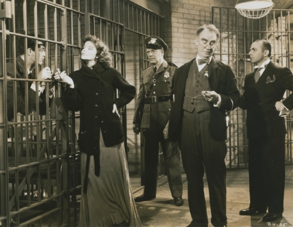 Cary Grant, Katharine Hepburn, Walter Catlett, Fritz Feld