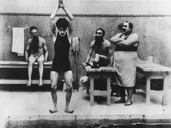 Charles Chaplin, Henry Bergman