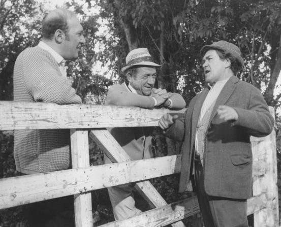 Sidney James, Bernard Bresslaw, Peter Butterworth