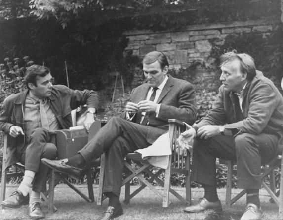 Dirk Bogarde, Stanley Baker, Joseph Losey