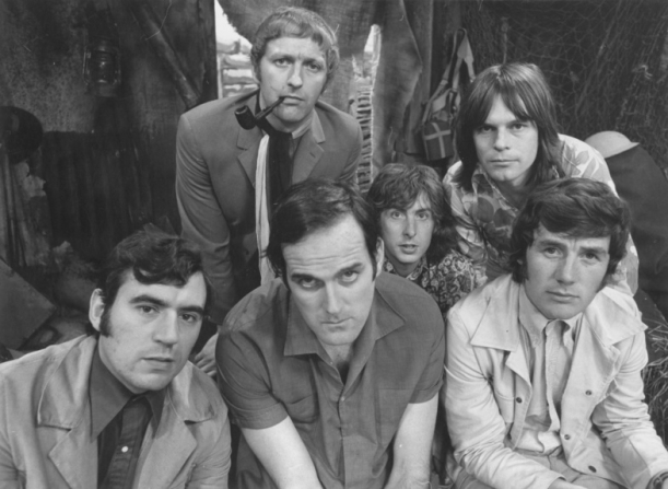 Terry Jones, John Cleese, Graham Chapman, Eric Idle, Terry Gilliam, Michael Palin