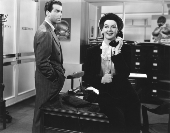 Fred MacMurray, Rosalind Russell