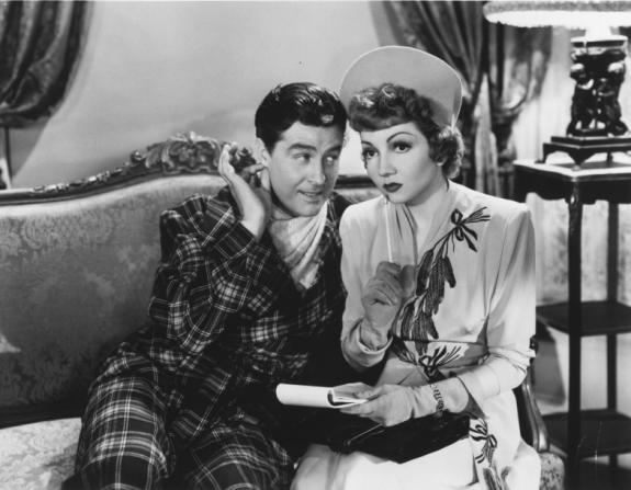 Ray Milland, Claudette Colbert