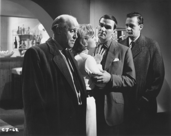Laurence Naismith, Margit Saad, Stanley Baker