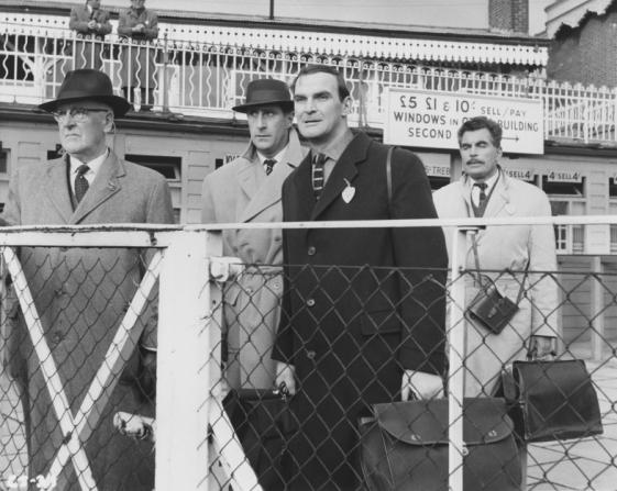 Nigel Green, Larry Taylor, Stanley Baker