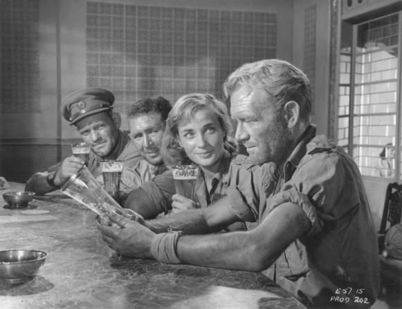 Harry Andrews, Anthony Quayle, Sylvia Syms, John Mills