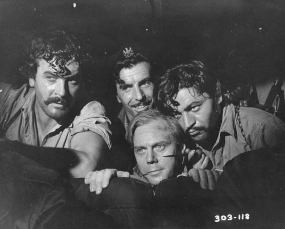Brian Worth, Laurence Payne, Wolfe Morris, Marius Goring