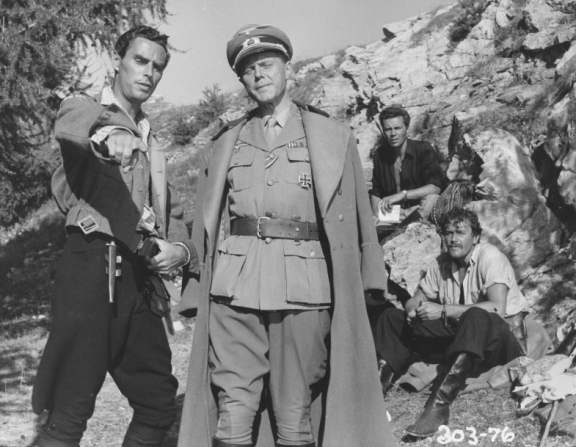David Oxley, Marius Goring, Dirk Bogarde, Brian Worth
