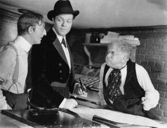 Orson Welles, Everett Sloane, Erskine Sanford
