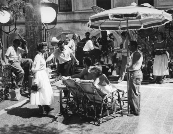 Katharine Hepburn, David Lean, Darren Mcgavin, Mari Aldon