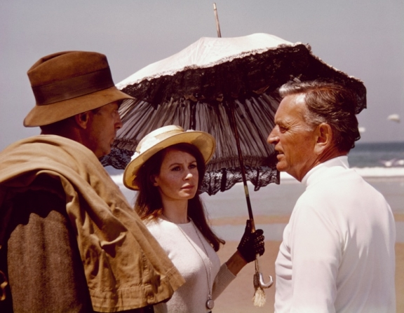 Robert Mitchum, Sarah Miles, David Lean