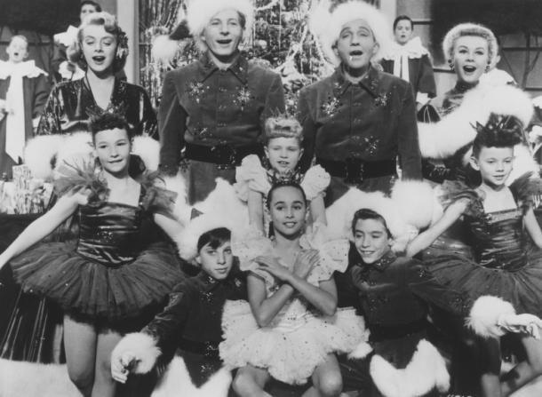 Rosemary Clooney, Danny Kaye, Bing Crosby, Vera-Ellen