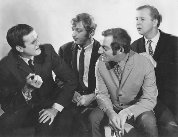 John Cleese, Graham Chapman, Marty Feldman, Tim Brooke-taylor