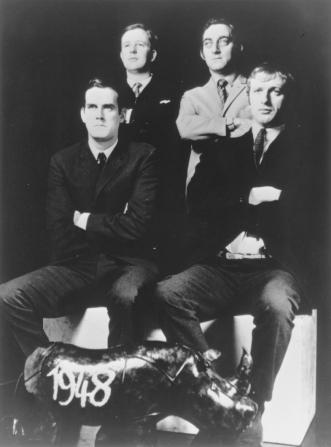 John Cleese, Tim Brooke-taylor, Marty Feldman, Graham Chapman