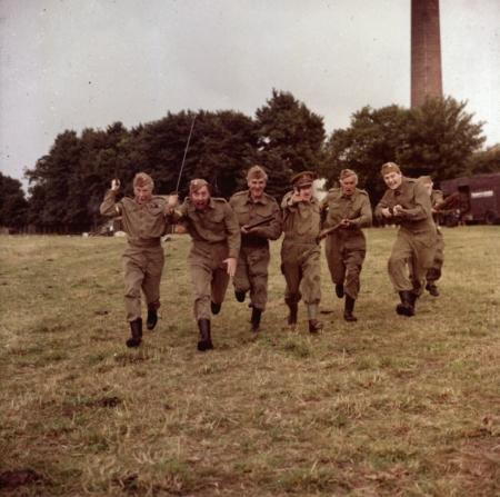 Arthur Lowe, Clive Dunn, John Le Mesurier, John Laurie, Ian Lavender, James Beck, Arnold Ridley