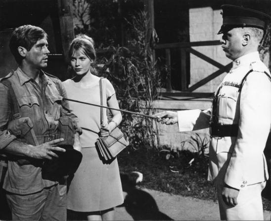 John Leyton, Mia Farrow, Richard Attenborough