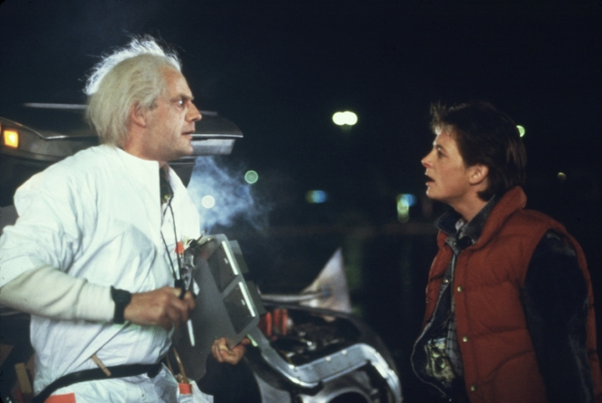 Christopher Lloyd, Michael J. Fox