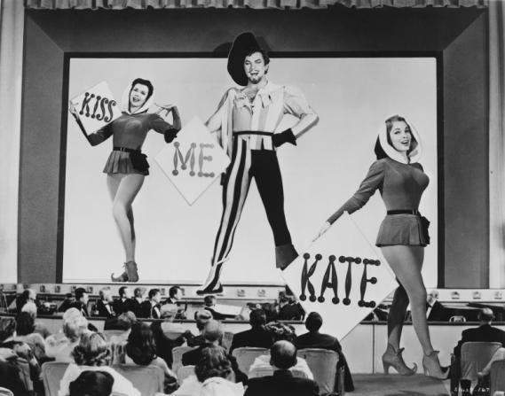 Ann Miller, Howard Keel, Kathryn Grayson