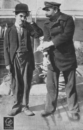 Charles Chaplin, Larry Bowes