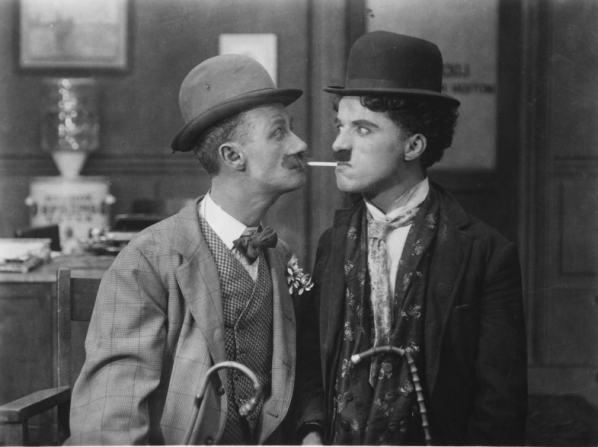 Ben Turpin, Charles Chaplin