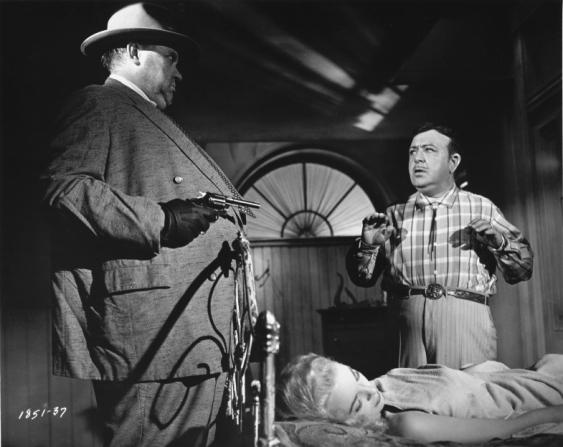 Orson Welles, Janet Leigh, Akim Tamiroff