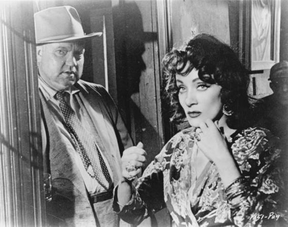Orson Welles, Marlene Dietrich