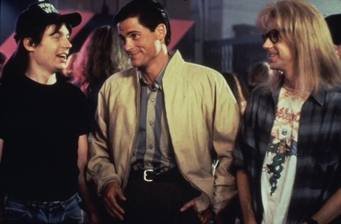 Mike Myers, Rob Lowe, Dana Cavey