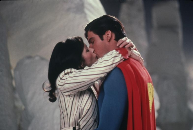 Margot Kidder, Christopher Reeve