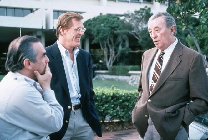 Robert Mitchum, Martin Scorsese, Nick Nolte